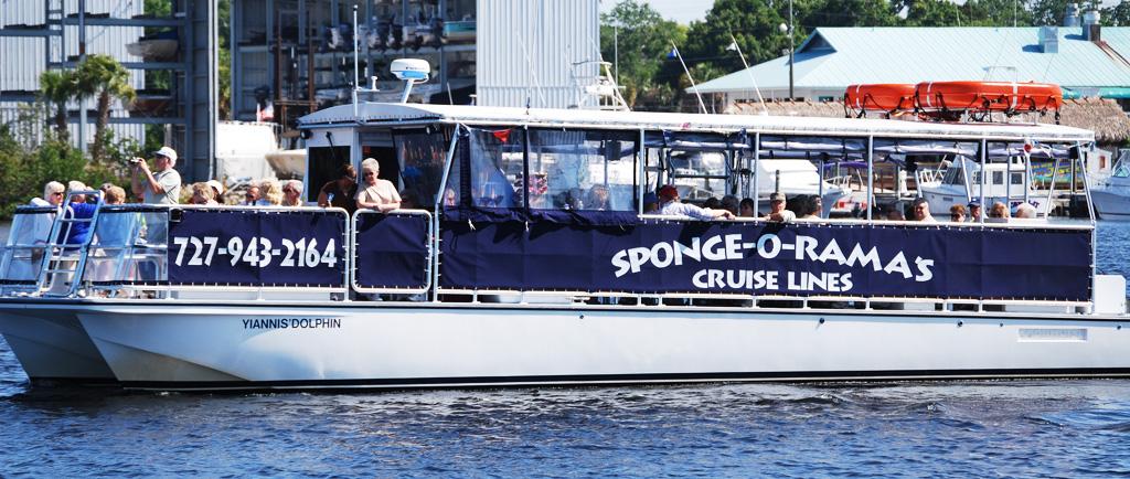 Spongeorama Cruise Lines Boat