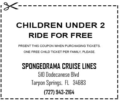 Spongeorama Cruise Lines coupon